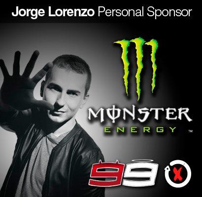 sponsor juga ganti Monster Energy