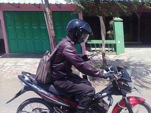 Satria FU pancen apik nggawe ban cilik (Boso Blitaran) 24/02/2013