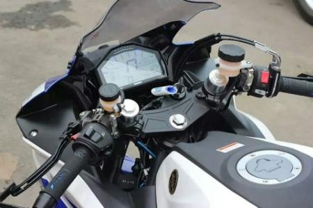 R25 Ganti Speedo Ori Dengan Speedo Full Digital Translogic