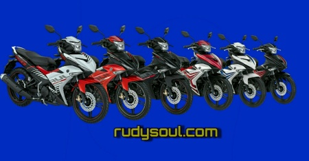 6 pilihan warna Jupiter MX King.