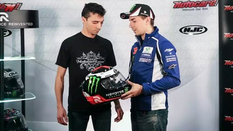 Lorenzo dan HJC