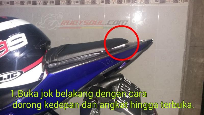contoh modifikasi jok motor r15